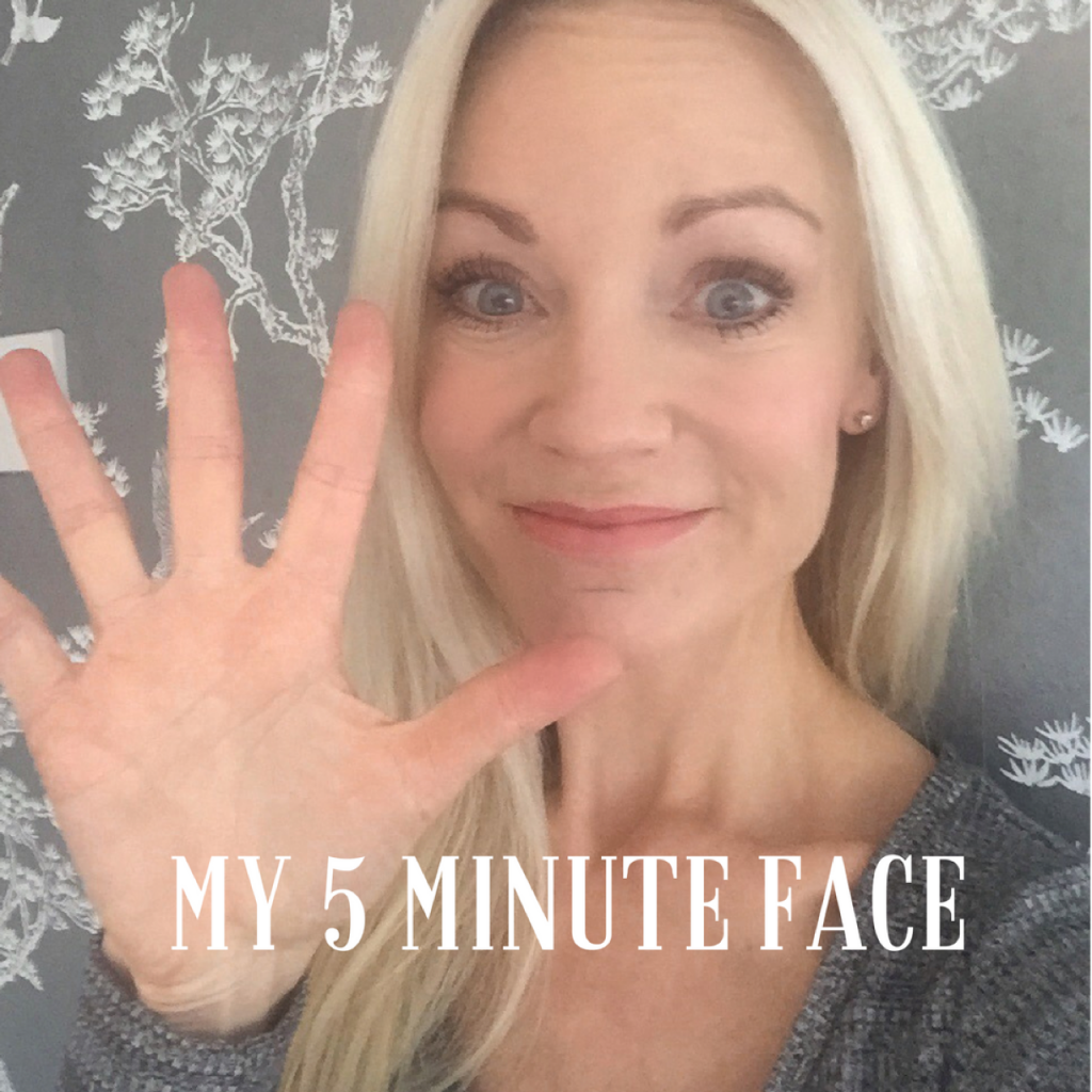 5 minute make-up/ ladies pass it on/ blog