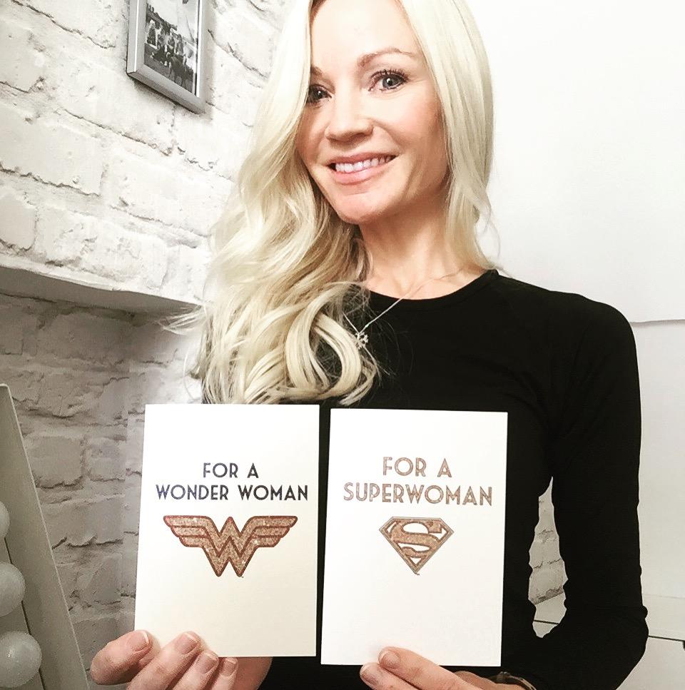 Superwoman/ Wonder Woman/ Quotes/ Blog/Ladies Pass It On