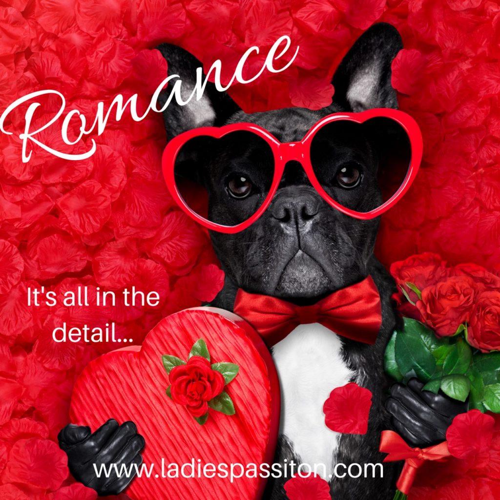romance dog/ ladies pass it on blog