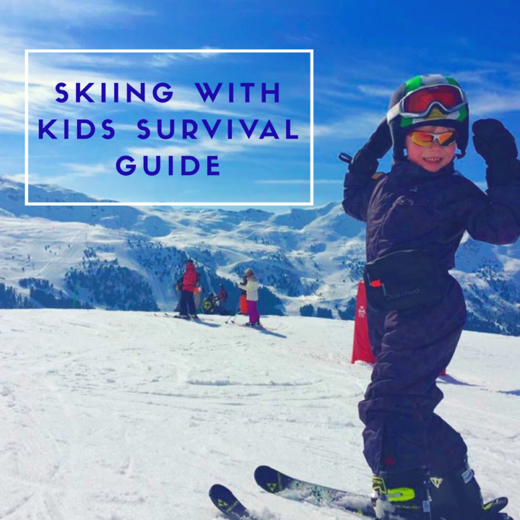 Skiing with kids/What you need to know/ skiing/ blog/ ladies pass it on/ kids ski holidays/ child on mountain skiing