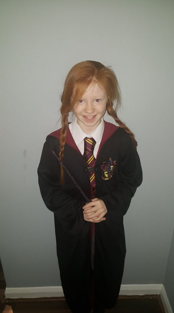 gINNY wEASLEY/ wORLD Book day parade/ harry potter