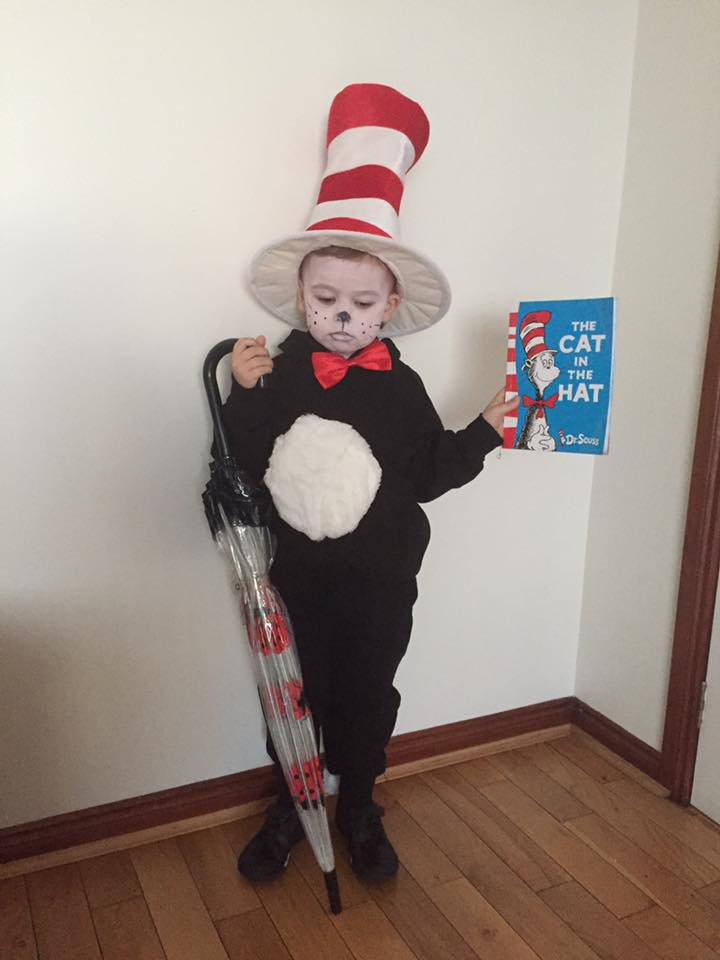Cat in the hat/ world book day parade