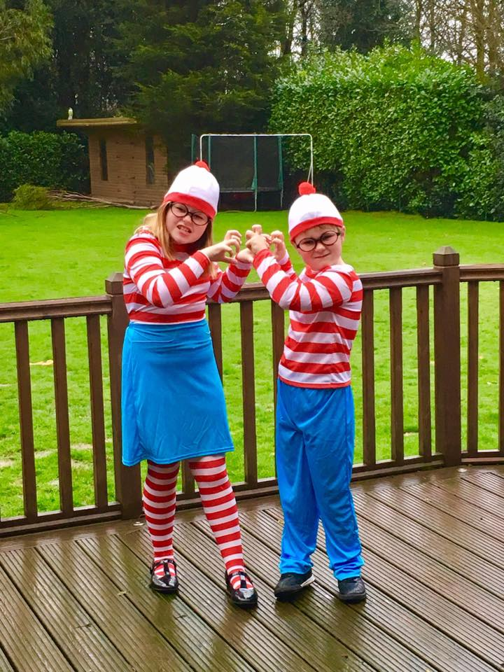 where's wally/ world book day