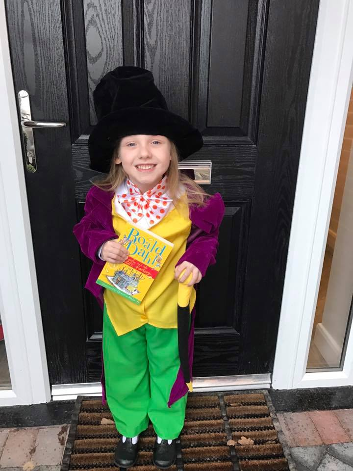 Willy Wonka/ World Book Day Parade