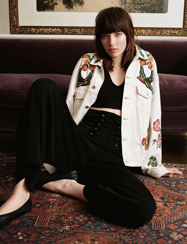Zara embroidered jacket/ spring edit/ blog fashion